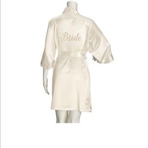 Other - Embroidered Bride Robe